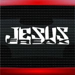 Jesus Freak #2 Christian Car Sticker Truck Window Vinyl Decal COLOR: PURPLE
