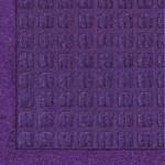 Andersen 280 WaterHog Fashion Polypropylene Fiber Entrance Indoor/Outdoor Floor Mat, SBR Rubber Backing, 3′ Length x 2′ Width, 3/8″ Thick, Purple
