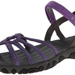 Teva Women's Kayenta Strappy Sandal, Vega Purple, 9 M US