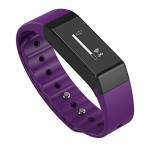 ipegtop Vidonn X6s Fitness Tracker,Touch Key Sleep Monitor Pedometer Smart Watch Band Activity Wristband with Oled Calling and Text Display Bluetooth V4.0 (purple)