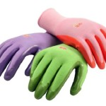 Women's Garden Gloves, 6 Pair Pack, assorted colors. Women's Medium