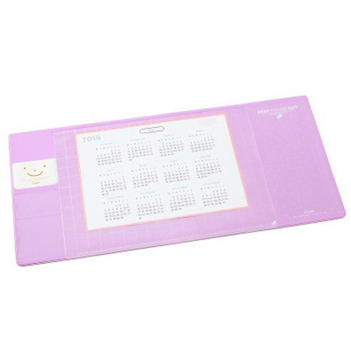 Chris Wang Multi Use Protective Big Office Desk Mat /Mouse Pad/Table  Organizer/Desk Protector/Card Schedule Pockets For Desktops And Laptops,  27.5u2033x11.8u2033, ...