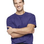 Hanes 5180 Beefy T Adult Short-Sleeve T-Shirt Size Large, Purple