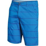 Under Armour Matchplay Printed Short – Men's Blue Jet / Galaxy Purple / Galaxy Purple 34