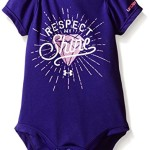 Under Armour Baby Respect My Shine Bodysuit, Purple Sky, 6-9 Months