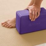 Gaiam Yoga Block, Deep Purple