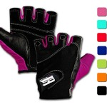 Weightlifting Gloves w/ Washable Ladies Gym Workout Crossfit Driving Gloves Women Weightlifting Gloves Women (Purple, M)