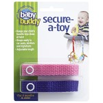 Baby Buddy Secure-A-Toy Pink/Purple