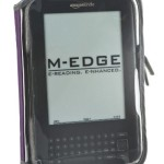 M-Edge Leisure Kindle Jacket, Purple (Fits Kindle Keyboard)