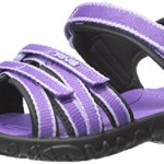 Teva Tirra Fashion Sandal (Little Kid/Big Kid), Purple-T, 13 M US Little Kid