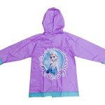 Frozen Elsa and Anna Girls Rain Slicker Raincoat (medium / 4-5)