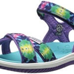 KEEN Phoebe Sandal (Little Kid/Big Kid), Purple Tie Dye, 2 M US Little Kid
