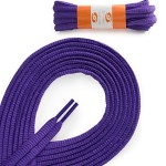 OrthoStep Oval Athletic Purple 54 inch Shoelaces 2 Pair Pack