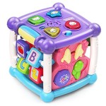 VTech Busy Learners Activity Cube – Purple – Online Exclusive