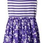 The Children's Place Big Girls Dress, Purple Rain, Large/10/12