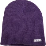 neff Men's Daily Beanie, Purple, One Size