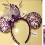 Disney Parks Minnie Mouse Purple Princess Crown Headband