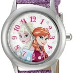 Disney Infinity Kids' W002506 Frozen  Elsa & Anna Analog Display Analog Quartz Purple Watch