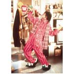 Whoopi Goldberg 8 Inch x10 Inch Photo The View The Color Purple Ghost Wearing Pink Outfit & Penguin Slippers kn