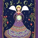 Toland Home Garden  Peace Angel 28 x 40-Inch Decorative USA-Produced House Flag