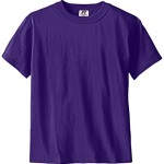 Russell Big Boys' Youth Nublend T-Shirt, Purple, Medium