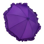 Galleria Kid's Ruffle Umbrella – Purple (Kids Ruffle-Purple)