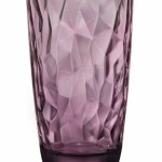 Bormioli Rocco Diamond Cooler Glasses, Rock Purple, Set of 6